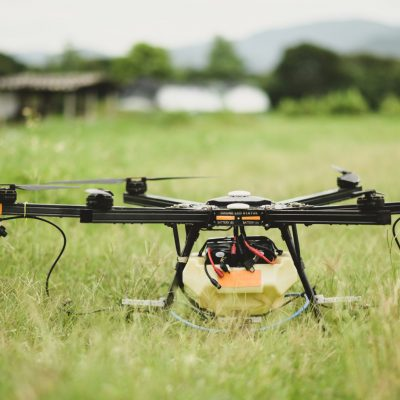 Drones for spraying agricultural chemicals, modern agriculture, agricultural technology.